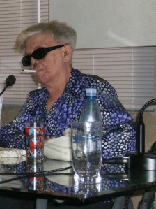 Graziela Pogolotti en magistral conferencia durante el evento Pensamos Cuba